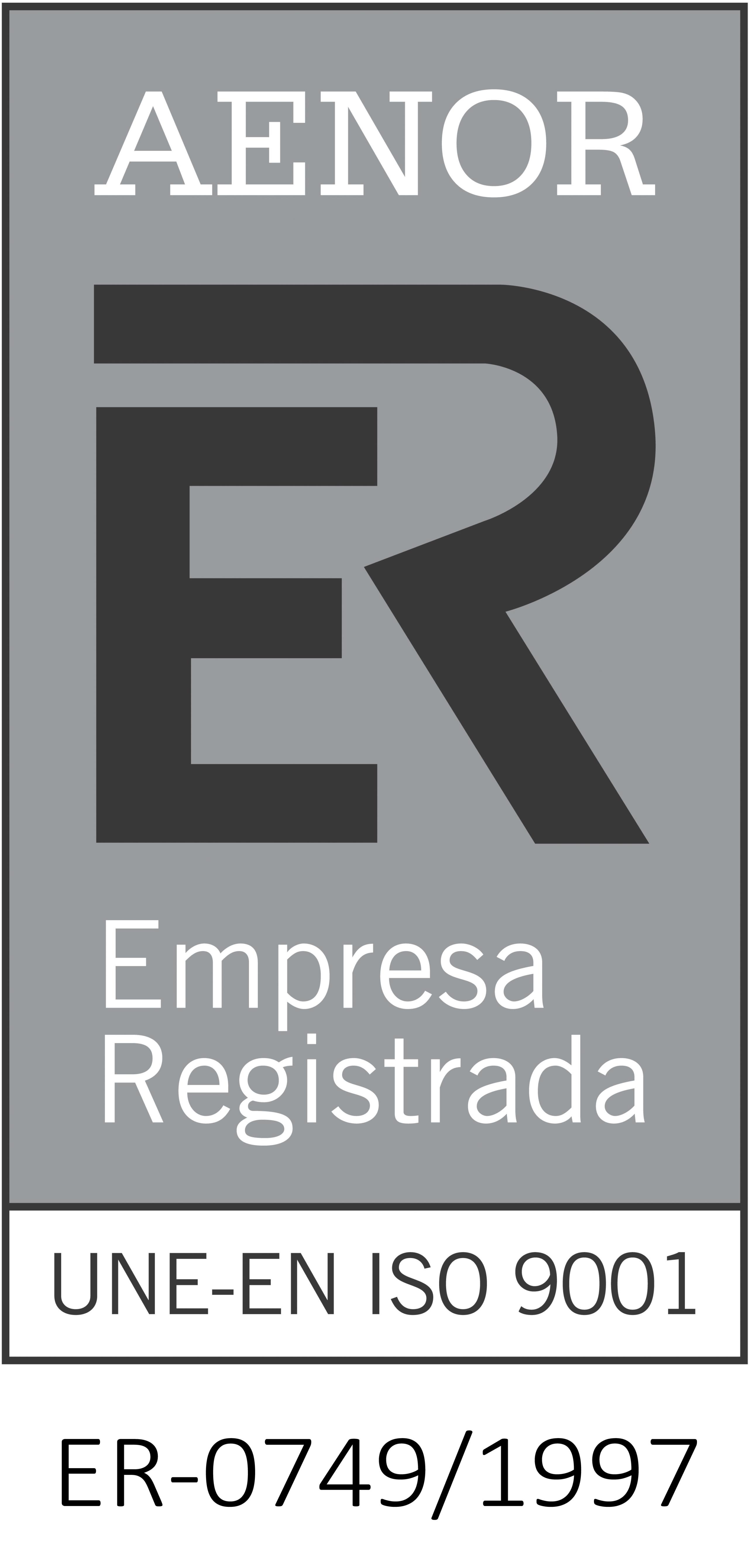 AENOR Serplus ISO 9001